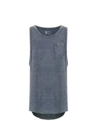 Camiseta sin mangas en gris oscuro de OSKLEN