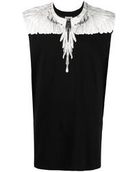 Camiseta sin mangas estampada en negro y blanco de Marcelo Burlon County of Milan