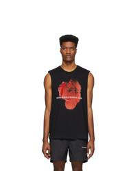 Camiseta sin mangas estampada negra de Stolen Girlfriends Club
