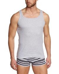 Camiseta sin mangas gris de Hugo Boss