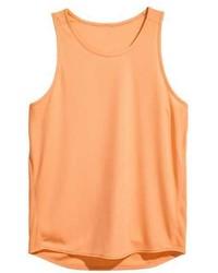 Camiseta sin mangas naranja