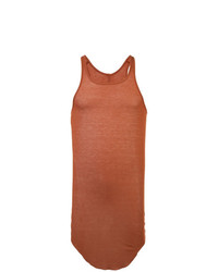 Camiseta sin mangas naranja de Rick Owens
