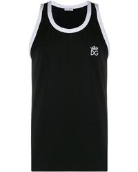 Camiseta sin mangas negra de Dolce & Gabbana