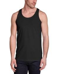 Camiseta sin mangas negra de Jack & Jones