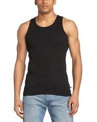 Camiseta sin mangas negra de Minimum