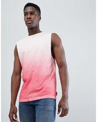 Camiseta sin mangas rosada de D-struct