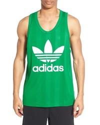 Camiseta sin mangas verde