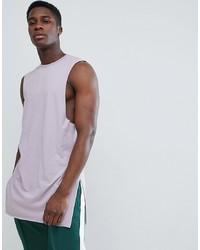 Camiseta sin mangas violeta claro de ASOS DESIGN