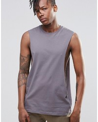 Camiseta sin mangas violeta claro de Asos