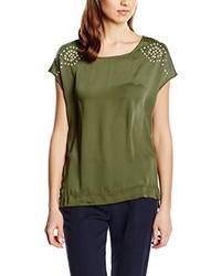 Camiseta Verde Oliva de Cortefiel