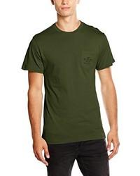 Camiseta verde oliva de Vans