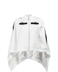 Capa bordada en blanco y negro de Anrealage