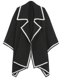 Capa negra de Burberry