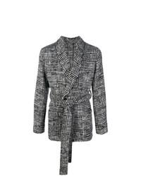 Cárdigan abierto en gris oscuro de Dolce & Gabbana