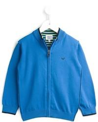 Cárdigan azul de Armani Junior