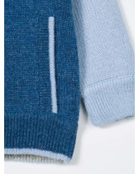 Cárdigan azul