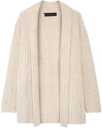 Cardigan con cuello chal en beige original 2477319