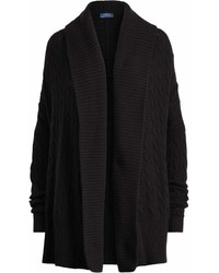 Cardigan con cuello chal negro original 2474151