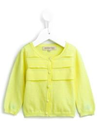 Cárdigan en amarillo verdoso
