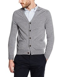 Cárdigan gris de Brooks Brothers