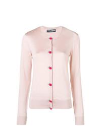 Cárdigan rosado de Dolce & Gabbana
