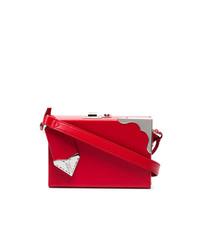 Cartera Sobre de Cuero Roja de Calvin Klein 205W39nyc