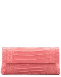 Cartera sobre rosada