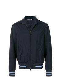 Cazadora de aviador azul marino de Valentino