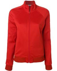 Cazadora de aviador de algodón roja de Givenchy