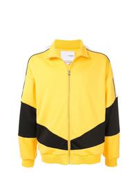 Cazadora de aviador estampada amarilla de Yoshiokubo