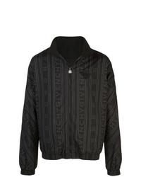 Cazadora de aviador estampada negra de Givenchy