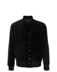 Cazadora de aviador negra de Engineered Garments