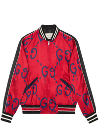 Cazadora de Aviador Roja de Gucci