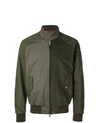 Cazadora de aviador verde oliva de Engineered Garments