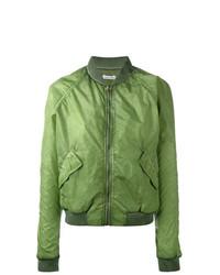 Cazadora de aviador verde de Tomas Maier