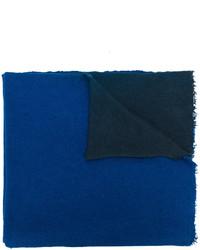 Chal con relieve azul de Faliero Sarti
