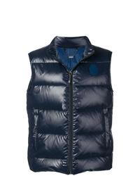 Chaleco de abrigo acolchado azul marino de Billionaire 359f7c1fd1db
