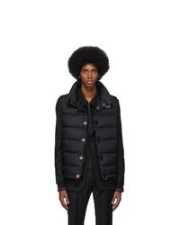 Chaleco de abrigo acolchado negro de Burberry