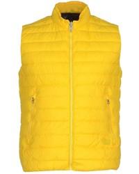 Chaleco de abrigo amarillo