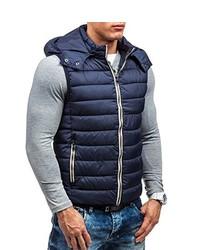 Chaleco de abrigo azul marino de BOLF