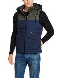Chaleco de abrigo azul marino de Esprit