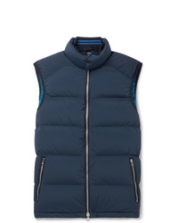 Chaleco de abrigo azul marino de Orlebar Brown