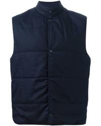 Chaleco de abrigo azul marino de Paul Smith