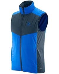 Chaleco de abrigo azul marino de Salomon