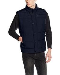 Chaleco de abrigo azul marino de Strellson Premium