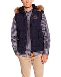 Chaleco de abrigo azul marino de Tom Tailor