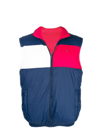 Chaleco de abrigo azul marino de Tommy Jeans