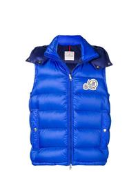 Chaleco de abrigo azul