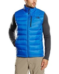 Chaleco de abrigo azul de The North Face