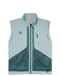 Chaleco de abrigo celeste de Nike